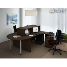 Офисные столы на заказ 2200*2200мм. psnz-100709