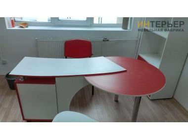 Офисные столы на заказ2400*800 мм. psnz-100701