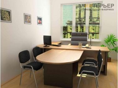 Офисные столы на заказ 2000*1200,600*1800мм. psnz-100703
