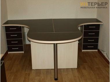 Офисные столы на заказ2400*1400мм. psnz-100706