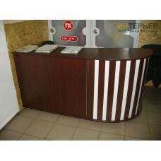Ресепшен на заказ 2400*800*800мм. psnz-100510