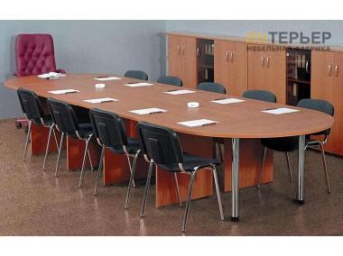 Стол для переговоров на заказ 3400*1200 мм. sdp-100202