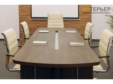 Стол для переговоров на заказ 2400*1200мм. sdp-100204