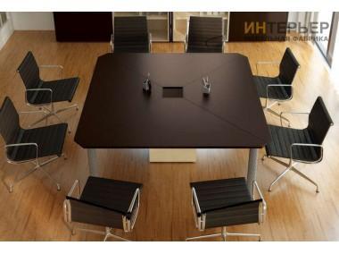 Стол для переговоров на заказ1800*1800 мм. sdp-100205