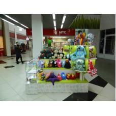 Стойка-островок для продажи игрушек to-8006034