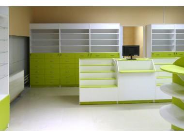 Торговая мебель для аптеки to-8006014