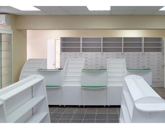 Купить Торговая мебель для аптеки to-8006010 в Томске