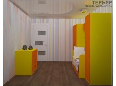 Набор мебели для детской комнаты Кенди