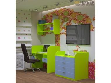 Набор мебели для детской комнаты Трис