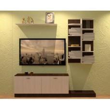Гостиная Тальяно Венге-Ясень Анкор Белый 2671-01