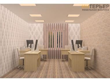 Набор офисной мебели Стронг