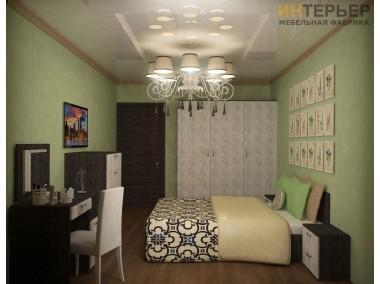 Комплект мебель для спальной Старк