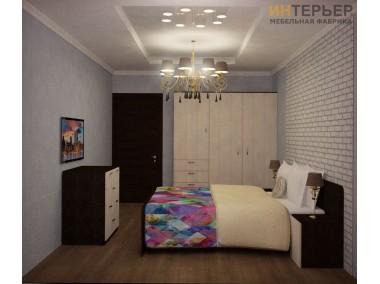 Комплект мебель для спальной Сингл