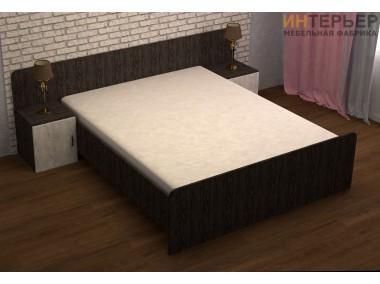 Кровать с тумбочками Сингл