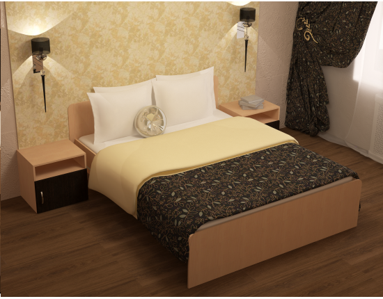 Купить кровать Румба Дуб выбеленный