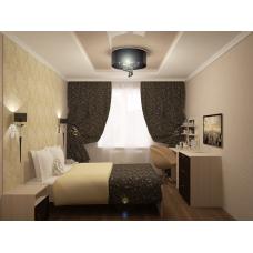 Комплект мебель для спальной Румба Венге-Дуб выбеленный