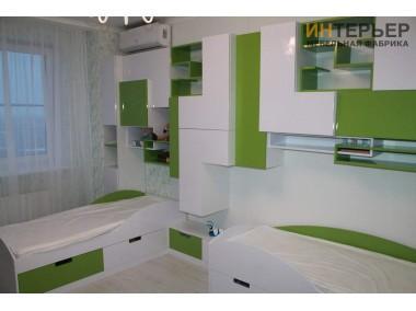 Детская мебель на заказ 3900*2100 мм. dmz-100201