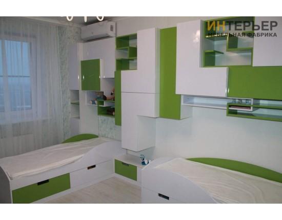 Купить Детская мебель на заказ 3900*2100 мм. dmz-100201 в Томске