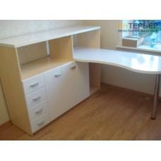 Компьютерный стол на заказ 1500*1500 мм. ksz-100501