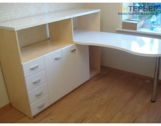 Купить Компьютерный стол на заказ 1500*1500 мм. ksz-100501 в Томске
