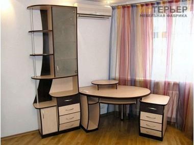 Компьютерный стол на заказ 1400*1400 мм. ksz-100518