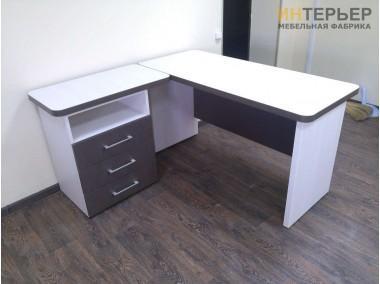 Компьютерный стол на заказ 1200*1400 мм. ksz-100541