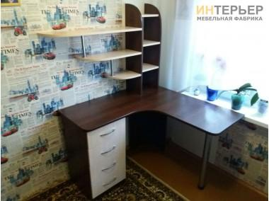 Компьютерный стол на заказ 1200*1200 мм. ksz-100531