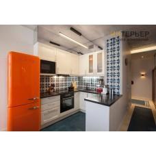 Кухня П-образная на заказ 2100*2000*2100 мм. knzak-100028