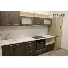 Кухня прямая МДФ на заказ 2700 мм. knzak-100060