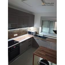 Кухня угловая МДФ на заказ 2400*2400 мм. knzak-100073