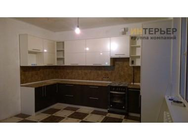 Кухня угловая П-образная Акрил на заказ 1500*3600* 1100мм. knzak-100015