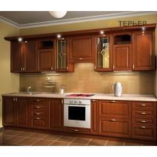 Кухня прямая МДФ на заказ 3000 мм. knzak-100033