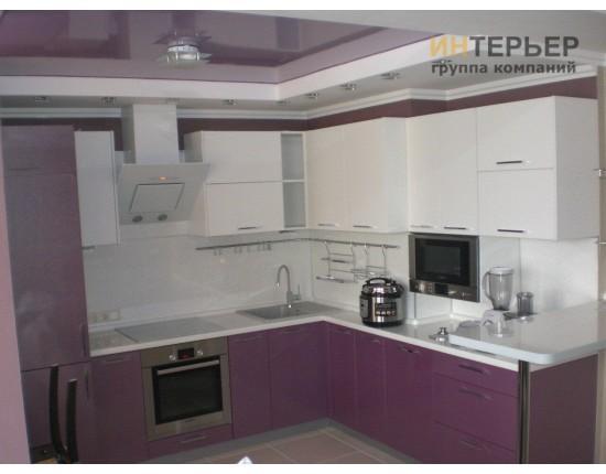 Купить Кухня угловая МДФ на заказ 2500*2300 мм. knzak-100062 в Томске