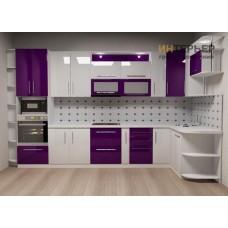 Кухня угловая МДФ на заказ 3600*2100 мм. knzak-100037