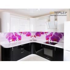Кухня угловая МДФ глянец на заказ 2150*2550 мм. knzak-100009