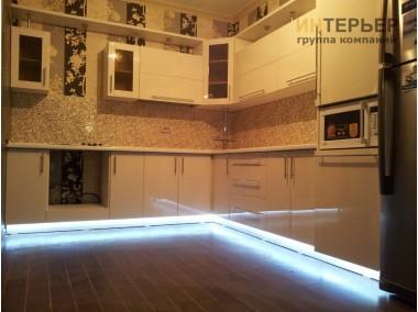 Кухня угловая МДФ на заказ 3200*3000 мм. knzak-100023