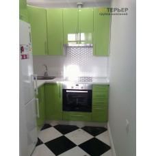 Угловая кухня с островом МДФ на заказ 2000*1300 мм, остров 1400 мм knzak-100012