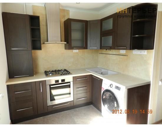 Купить Кухня Угловая МДФ на Заказ 2000*1800мм мм knzak-100111 в Томске