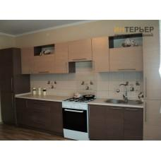 Кухня прямая МДФ на заказ 4050 мм. knzak-100024