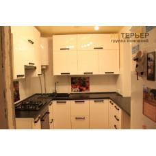 Кухня П-образная на заказ 1500*2000*1500 мм knzak-100013
