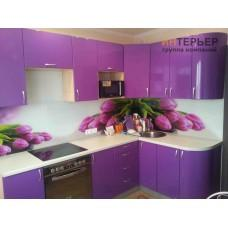 Кухня угловая МДФ глянец на заказ 1500*2600 мм. knzak-100014