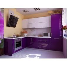 Кухня угловая акрил на заказ 3200*2000 мм. knzak-100025