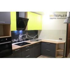 Кухня угловая ЛДСП на заказ 2600*1700 мм. knzak-100058