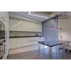 Кухня прямая акрил на заказ 3600 мм. knzak-100027
