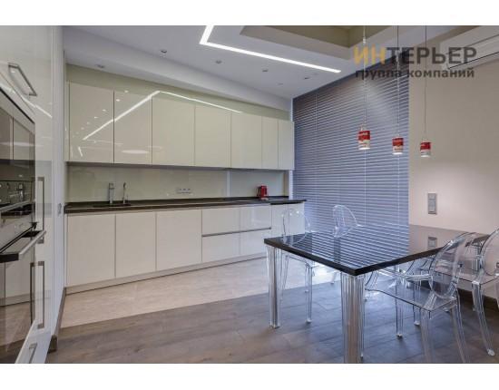 Купить Кухня прямая акрил на заказ 3600 мм. knzak-100027 в Томске