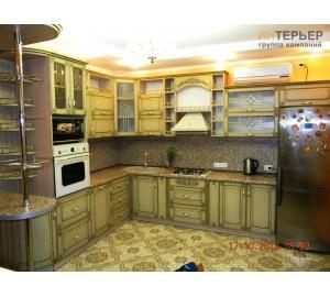 Кухня на заказ knzak-100202 купить в Томске